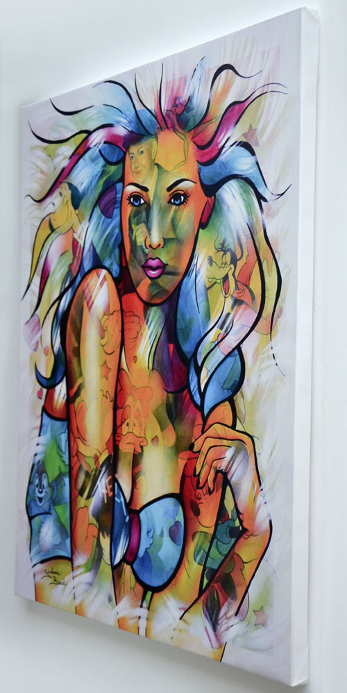 "Impression sur toile ""Dance with me"" de Guichard Bunel"