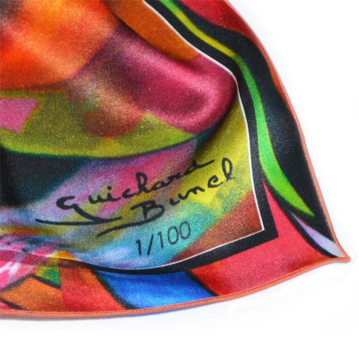 "Numerotation foulard ""Amour Sorcier"""