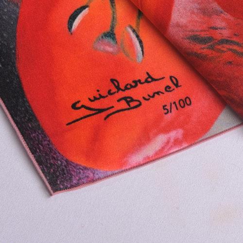 """Numérotation Foulard """"Fleur de Lys"""""""