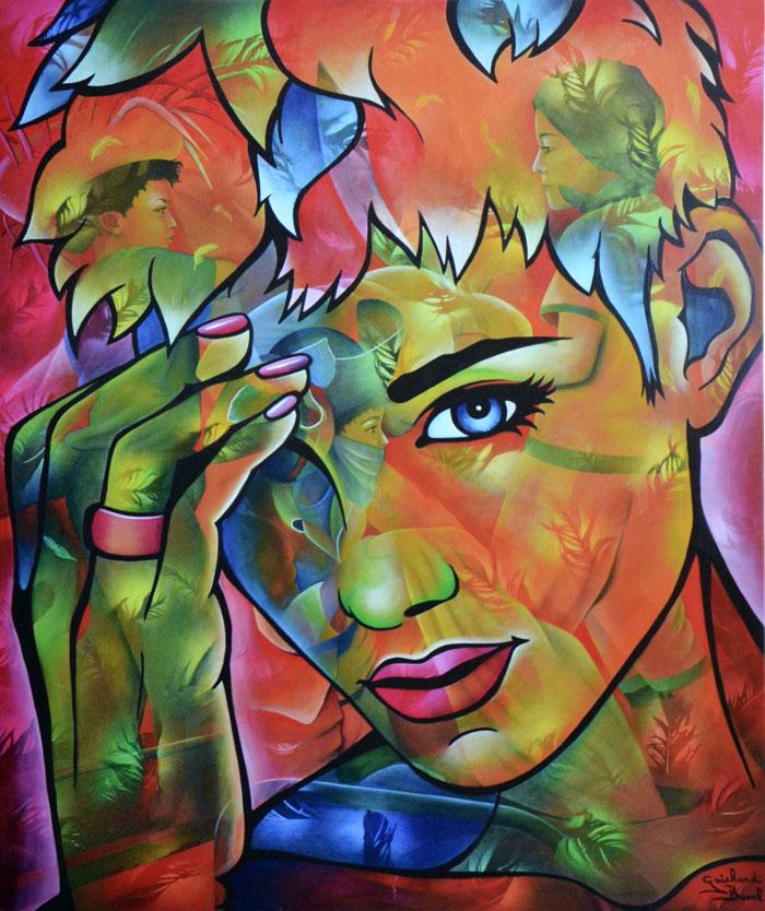 """Reproduction """"Oh My God"""" de Jeannette Guichard Bunel"""