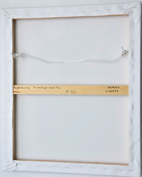 """Impression toile """"Le vent qui rend fou"""" de Guichard Bunel"""