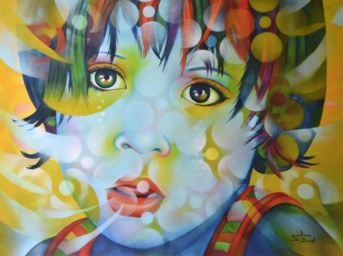 Plexiglass Enfant de Bali de Guichard Bunel