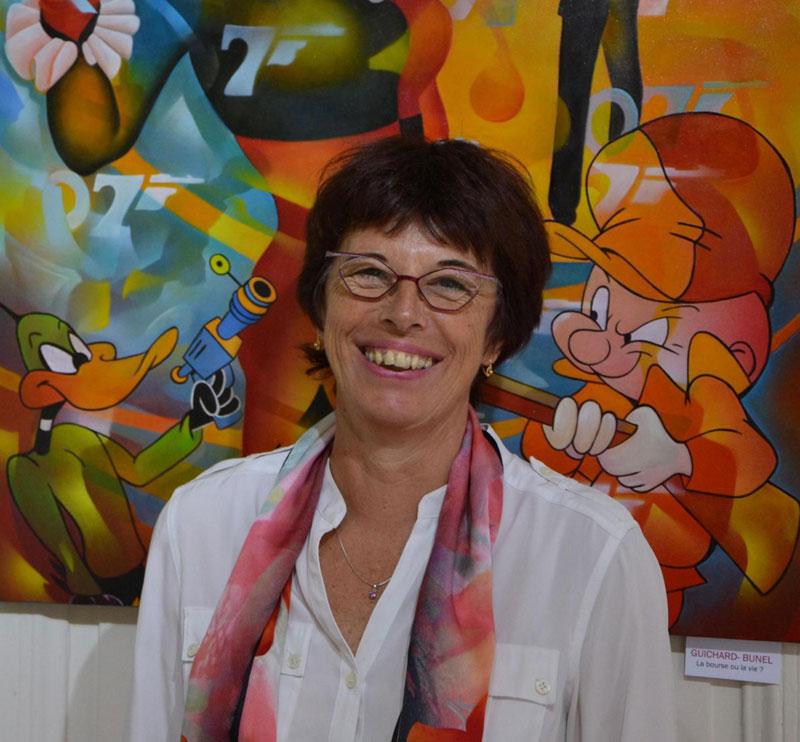 Portrait de Jeannette Guichard Bunel