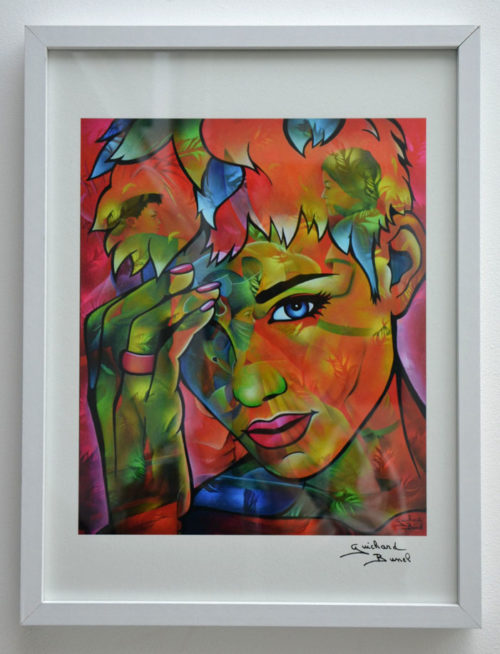 "Tirage d'art papier ""Oh My God"" de Guichard Bunel"
