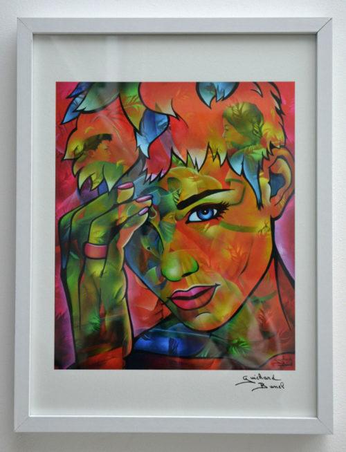 """Tirage d'art papier """"Oh My God"""" de Guichard Bunel"""