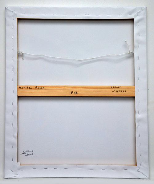 """Impression sur Toile """"Première classe"""" de Guichard Bunel"""
