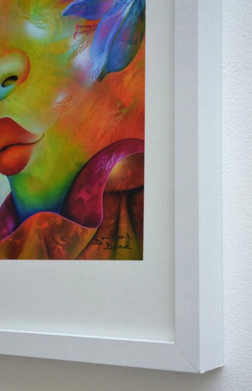 pomme d'amour en tirage papier par Jeannette Guichard Bunel