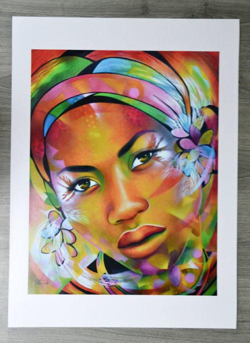 """affiche poster """"Amour sorcier"""""""