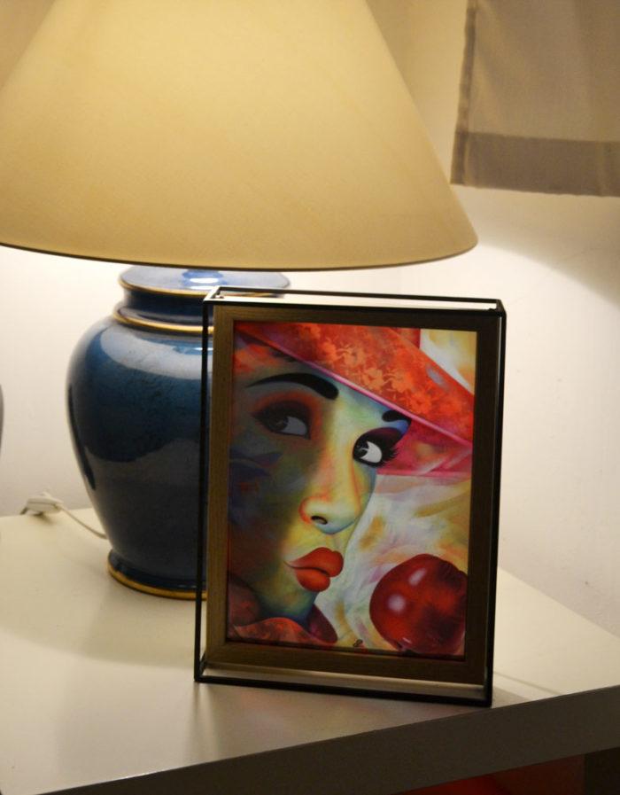 Vitr'Art Pomme d'Amour par Guichard Bunel